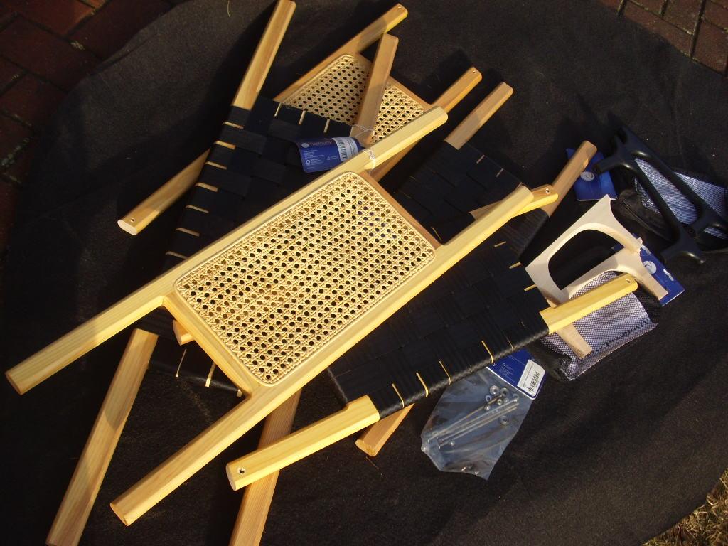 Kanu Sitze und Zubehör