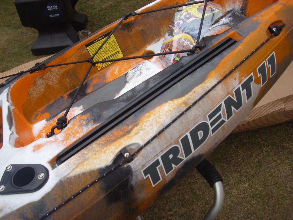 trident 11 angler � ocean kayak paddel store