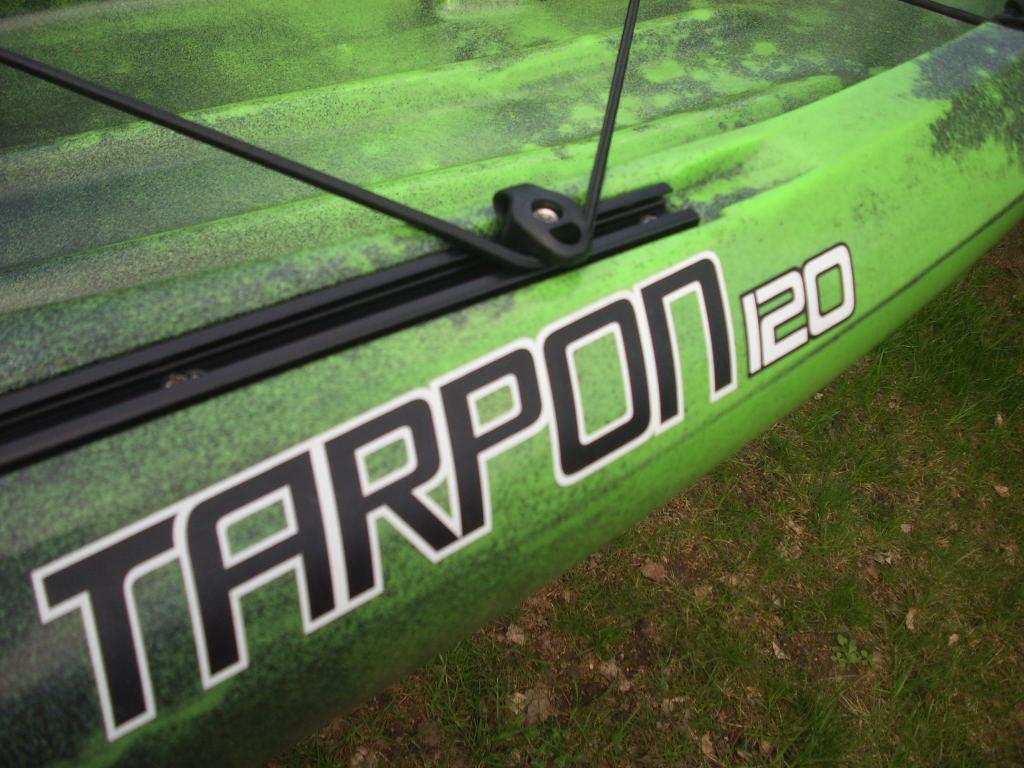 Tarpon 120 Angler Sonar Wilderness Systems Paddel Store
